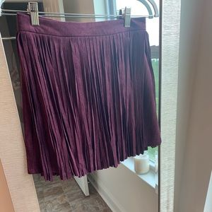 BB Dakota suede fringe mini skirt NEVER WORN!!